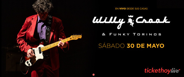 WILLY CROOK & FUNKY TORINOS: Desde su casa