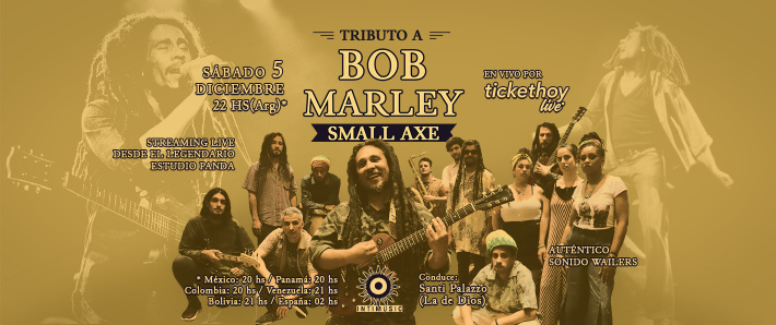 Tributo a Bob Marley & The Wailers - Small Axe.